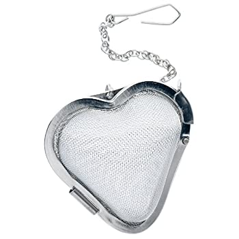 Heart-Shaped Mesh Infuser Cup Size