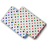 FeatherTouch Baby Swaddle Cloth, Infant Wrap, Receiving Blanket Combo Set Of 2, Multicolour Polka Dots Print ,...
