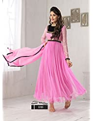Fabboom Buy Exclusive Brasso Pink Dress Material
