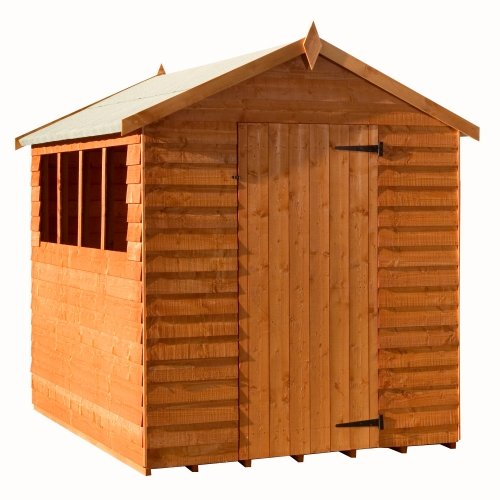 Woodlands Budget Apex Shed : Size - 12 X 8