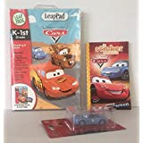 Disney Cars Children Kids Boys Girls Bundle Leap Frog Leap Pad Educational Book, Sticker Book To Color And Pixar...