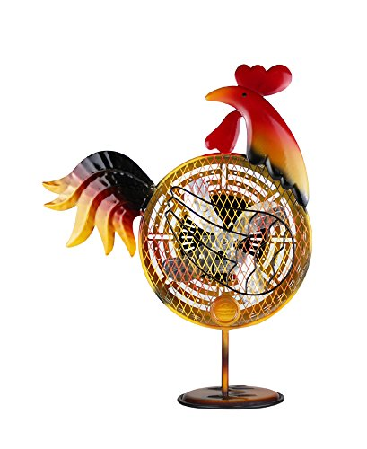 WBM HBM-7006 Himalayan Breeze Decorative Rooster Fan