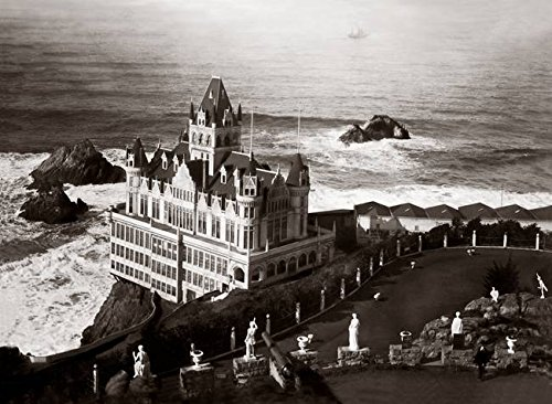 Wall Art Print entitled Cliff House C1890 by Worldwide Archive (Cliff House Poster compare prices)