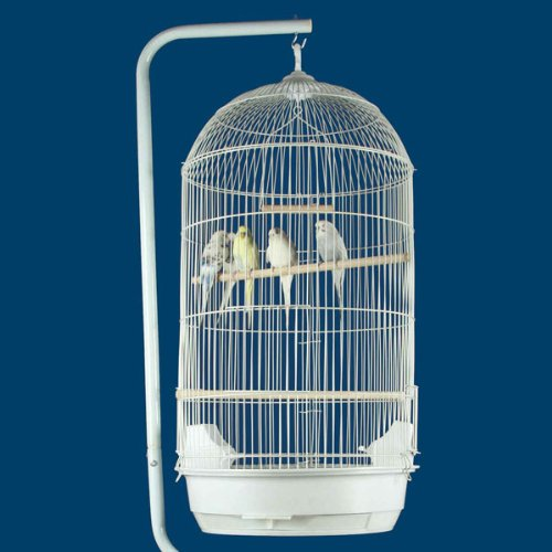 """Princeville Palace Bird Cage - 21""""W x 16""""D x 56""""H - With Stand or Without or Stand Only! 2 Colors Available! 2"""