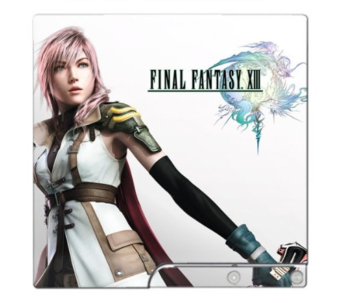 Final Fantasy XIII 13 Limited Edition Game Skin for Sony Playstation 3 Slim Console