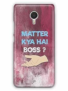 YuBingo What's the Matter, Boss? Designer Mobile Case Back Cover for Yu Yunicorn