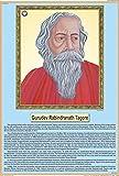 Life Sketch of Gurudev Rabindranath Tagore Chart (50x75cm)