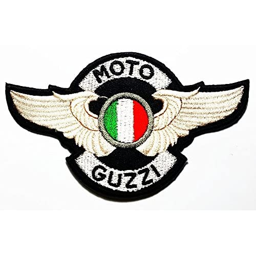 MOTO GUZZI Italian wing Big Bike & Motorcycle Classic varieties of raw Logo Patch Sew Iron on Embroidered
