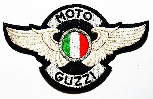 MOTO GUZZI Italian wing Big Bike & Motorcycle Classic varieties of raw Logo Patch Sew Iron on Embroidered 0