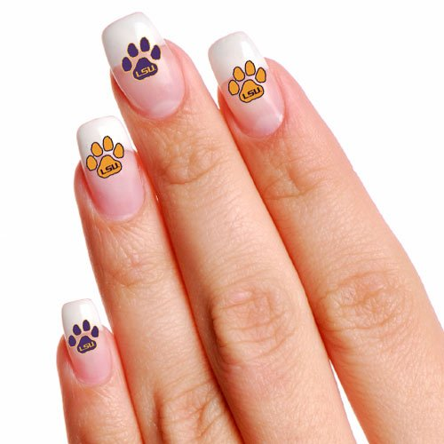 LSU Tigers 16 Mini Temporary Tattoos at Amazon.com