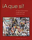 img - for A que si!, Third Edition book / textbook / text book