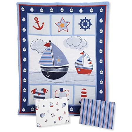 51YuM9qCcIL._SS450_ The Best Nautical Quilts and Nautical Bedding Sets