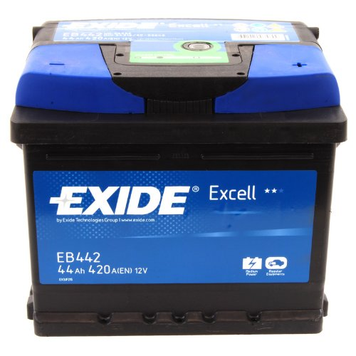Exide Excell EB442 44Ah Autobatterie wartungsfrei