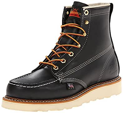 Thorogood American Heritage Boot, Black, 8 D US