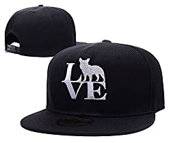 XIDA LOVE French Bulldog Dog Symbol Logo Adjustable Embroidery Hats Beanie Knitted Snapback Baseball Visor Caps Hats