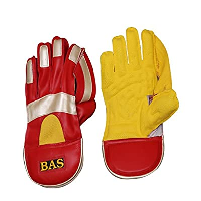 Bas Vampire Gold Wicket Keeping Gloves, Full Size