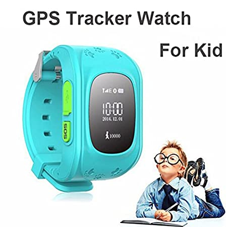 Buy Wayona Kids Tracker Smart Wrist Watch With Gps Gsm System With Functions Children Safe Security Sos Surveillancepedometer Remote Power