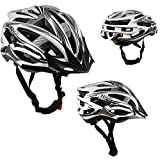 AWE® AeroStealthTM Kohlenstoff In-Mould-Fahrrad Helm schwarz