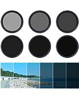 XCSOURCE® 55mm filtre fader ND à densité neutre variable et réglable ND2 ND4 ND16 jusqu'à ND400 avec un boîtier LF303