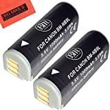 BM Premium 2-Pack NB-9L Battery For Canon PowerShot N, N2, Elph 510, Elph 520, Elph 530 HS, SD4500 IS Digital Camera