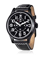 Hindenberg Reloj automático Man Hindenberg 240-H Air Rider Pvd Black 44 mm