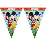 Amscan Playful Mickey Pennant Banner Party Accessory