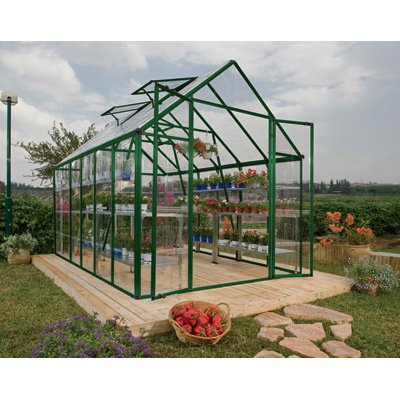 Palram Snap and Grow 8 by 20-Inch Greenhouse, Green