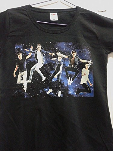 ONE DIRECTION T.SHIRT DONNA tg. S New