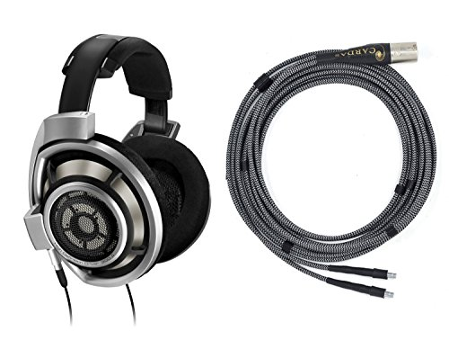 New! Bundle Sennheiser Hd/800 Headphones + Cardas Clear Audiophile Cable 10Ft 3M
