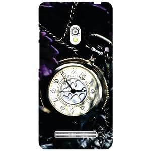 Asus Zenfone 5 A501CG Back Cover - Watch Clock Designer Cases