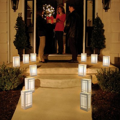 12 Count Battery Operated Luminary Kit With Lantern Design