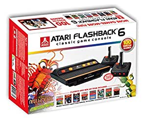 Atari flashback 6 classic game console video games - Atari flashback 3 classic game console ...