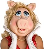 The Muppets Adult Miss Piggy Overhead Latex Mask, Multi Color, One Size