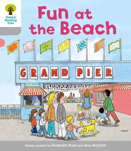 Fun at the Beach. Roderick Hunt, Thelma Page (Ort First Words)