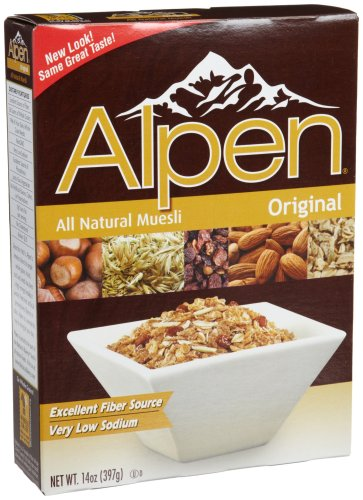 Alpen Cereal, Original, 14-Ounce Boxes (Pack of 6)