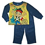 Jake and the Never Land Pirates Toddler Boys Flannel Sleepwear Set