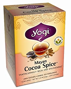 Yogi Mayan Cocoa Spice Tea, 16 Tea Bags (Pack of 6)