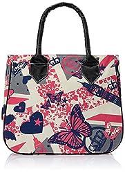 Kanvas Katha Women's Handbag (Ecru) (KKHB002E)