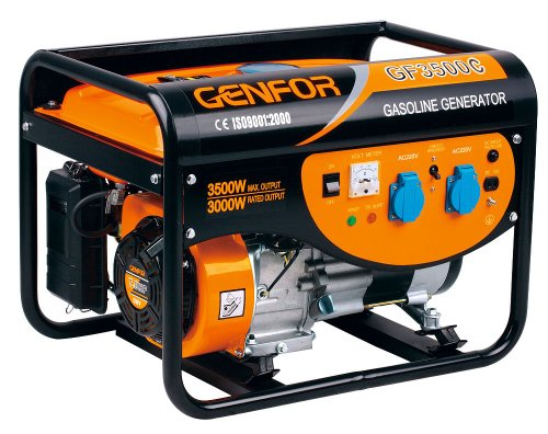 Genfor GF3500C, 3,500-watt Gasoline Powered Portable Generator