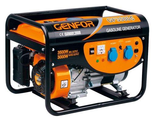 Genfor GF3500C, 3,500-watt Gasoline Powered Portable Generator