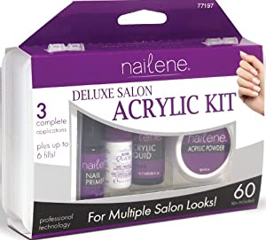 Amazon.com: Nailene Salon Acrylic Kit, Deluxe: Beauty