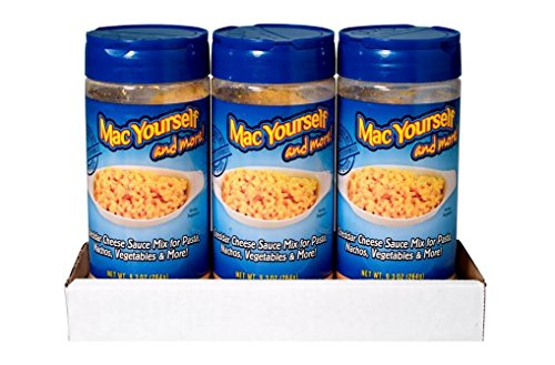 Mac Yourself Powdered Cheese Sauce Mix, 9.3 Ounce  (Pack of 3) (Nacho Cheese Mix compare prices)