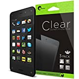 i-Blason Amazon Fire Phone Screen Protector - 3 Pack Premium HD Clear Version