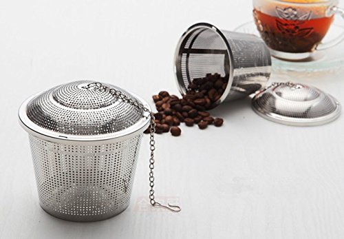 Cheap Ohuhu® Stainless Steel Tea Strainer / Tea Filter / Tea Infuser with 4.35 Chain
