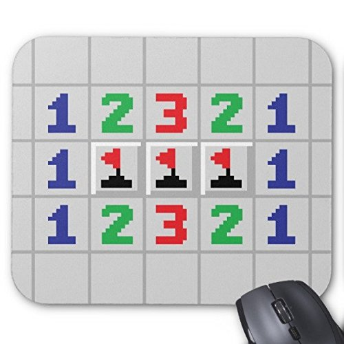 Personalized Unique Gaming Mouse Pad Style Minesweeper Mouse Pad