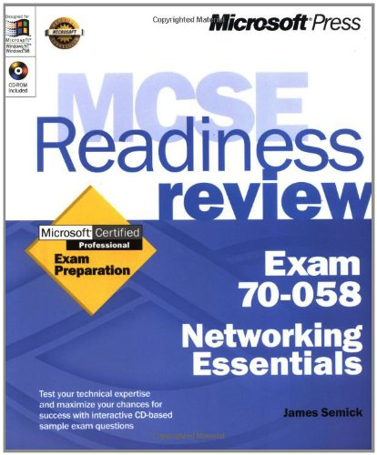 MCSE Readiness Review Exam 70-058 Networking Essentials