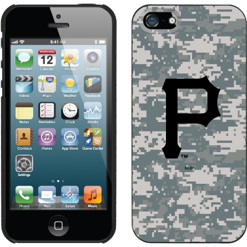 Best Price Pittsburgh Pirates - Digi Camo P design on a Black iPhone 5 Thinshield Snap-On Case by Coveroo
