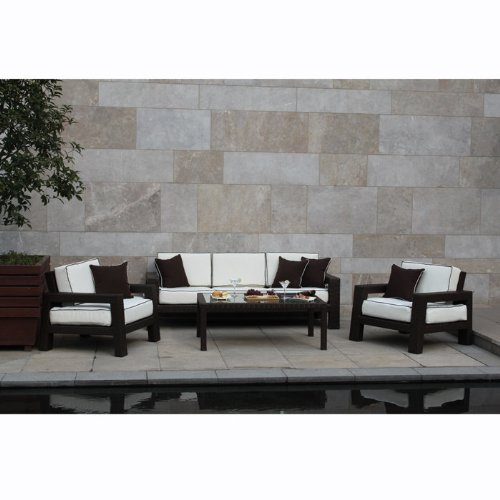 Placencia 4-Piece All-Weather Deep Seating Sofa Set