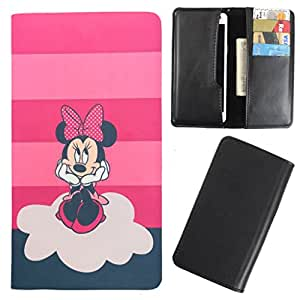 DooDa - For Intex Aqua Ace PU Leather Designer Fashionable Fancy Case Cover Pouch With Card & Cash Slots & Smooth Inner Velvet