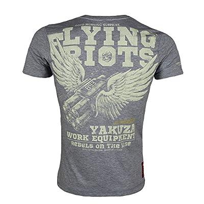 Yakuza Premium T-Shirt 1707 grau